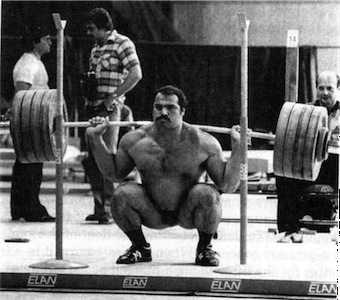 Anatoly back squat