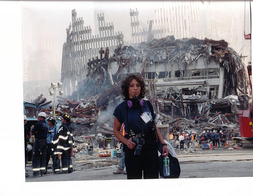 Lisa at ground Zero 2